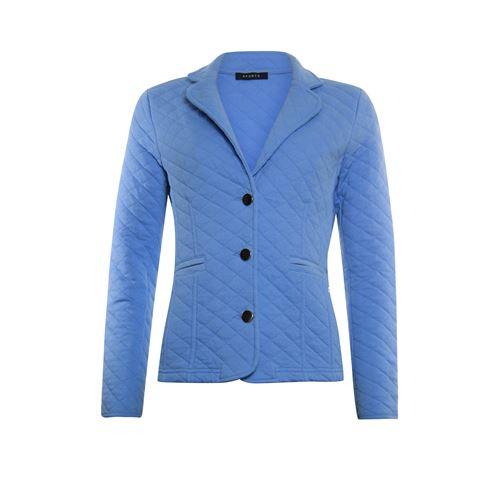 RS Sports dameskleding jassen & blazers - jasje gestept chambray. beschikbaar in maat 42,44,46,48 (blauw)