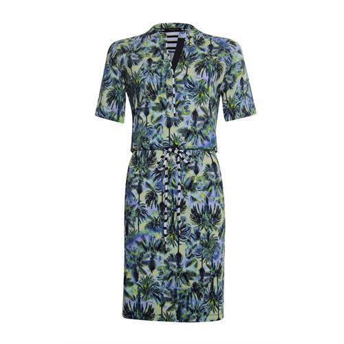 RS Sports dameskleding jurken - jurk print korte mouw. beschikbaar in maat 40,42,44,46,48 (multicolor)