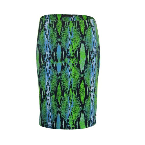 RS Sports ladieswear skirts - skirt printed ribjersey. available in size 40,42,44,46,48 (blue,multicolor,olive)