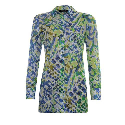 RS Sports ladieswear blouses & tunics - blouse long style allover print. available in size 38,40,42,44,46,48 (multicolor)