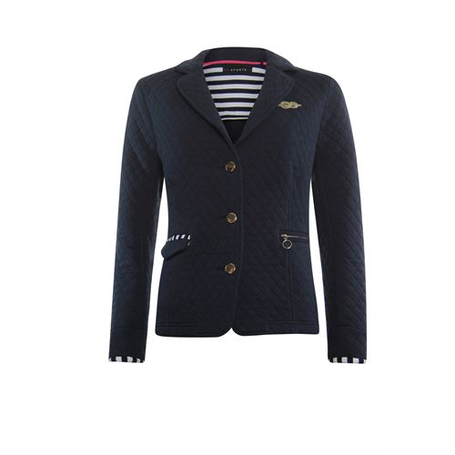 RS Sports ladieswear coats & jackets - jacket stepfabric with embroidery. available in size 38,40,42,48 (blue)