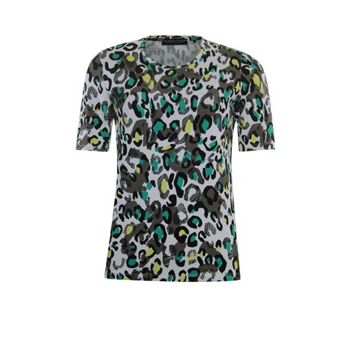 Roberto Sarto ladieswear t-shirts & tops - t-shirt. available in size 48 (brown,green,multicolor,olive)