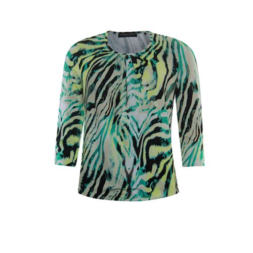 Roberto Sarto ladieswear t-shirts & tops - t-shirt blouson. available in size 38,40,42,44,46,48 (multicolor)