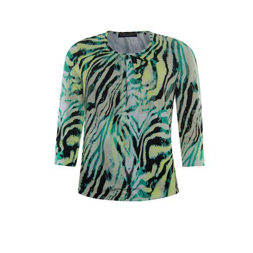 Roberto Sarto dameskleding t-shirts & tops - t-shirt blouson. beschikbaar in maat 38,40,42,44,46,48 (multicolor)
