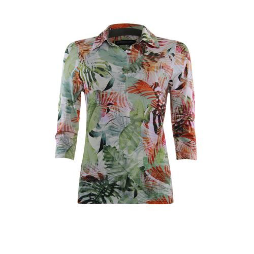 Roberto Sarto ladieswear t-shirts & tops - t-shirt polo. available in size  (multicolor,olive)
