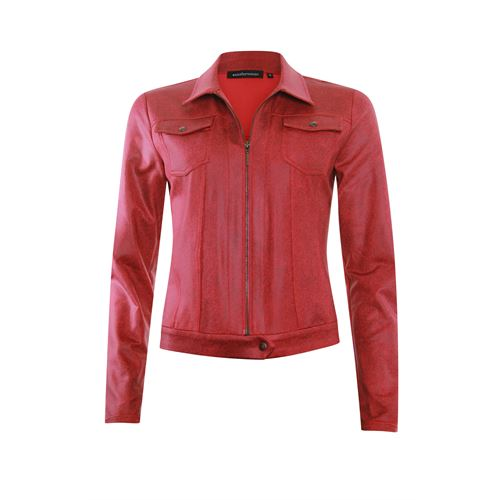 Anotherwoman ladieswear coats & jackets - coated jacket with collar. available in size 36 (red)