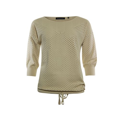 Anotherwoman ladieswear pullovers & vests - knitted ajour pullover. available in size 36,38,40,42,46 (brown)