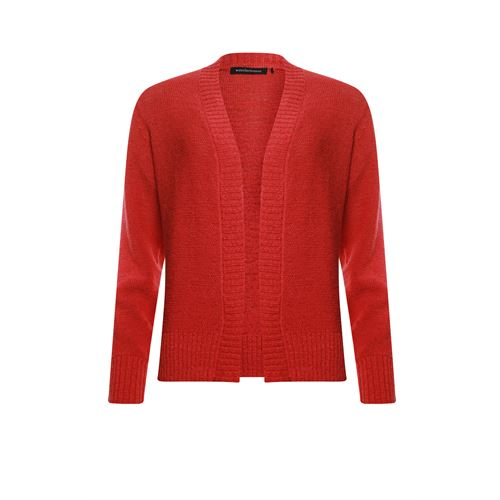 Anotherwoman ladieswear pullovers & vests - knitted cardigan tapeyarn. available in size 36,38,40,44 (red)