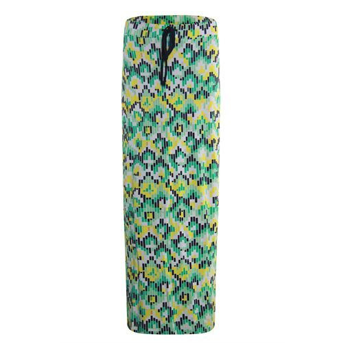 Anotherwoman dameskleding rokken - lange rok. beschikbaar in maat 36,38,40,42,44,46 (blauw,geel,groen,multicolor)