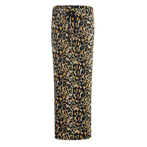 Anotherwoman dameskleding rokken - lange rok. beschikbaar in maat 36,38,40,42,44,46 (bruin,multicolor,zwart)