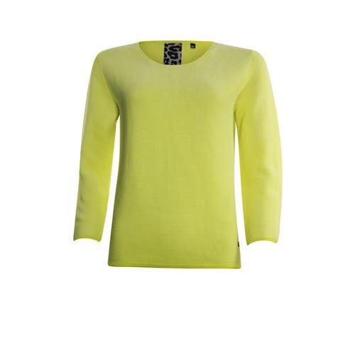Poools dameskleding truien & vesten - sweater knit. beschikbaar in maat 42,44,46 (geel)
