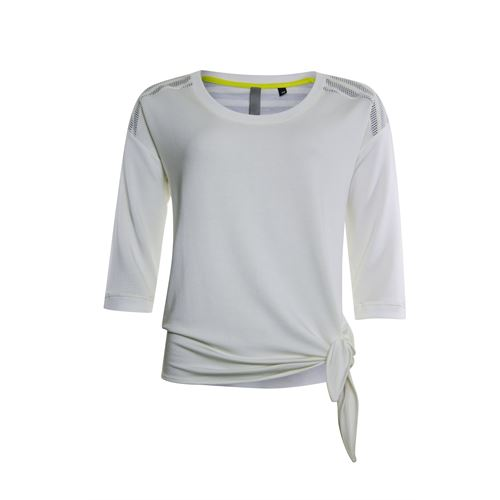 Poools ladieswear pullovers & vests - sweater mesh shoulder. available in size 36,38,40,42,44,46 (off-white)