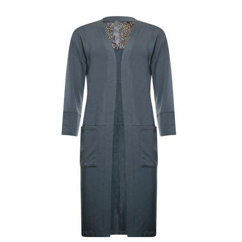 Poools dameskleding truien & vesten - cardigan micromodal. beschikbaar in maat 36,38,40,42,44,46 (grijs)