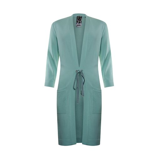 Poools ladieswear pullovers & vests - cardigan plain rope closure. available in size 36,38,40,42,44,46 (green)