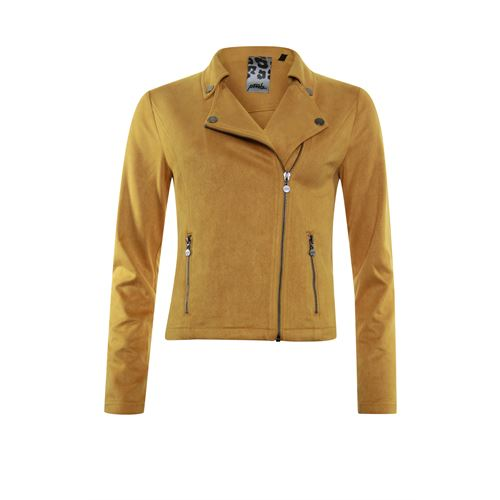 Poools ladieswear coats & jackets - jacket biker zip closure. available in size 38,40,42,44 (yellow)