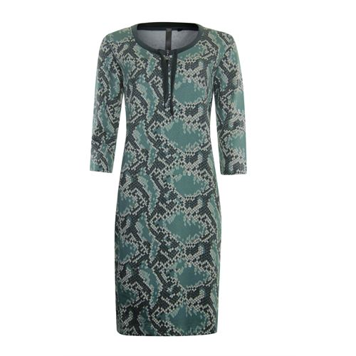 Poools ladieswear dresses - sweatdress print. available in size 36,38,40,42,44 (multicolor)