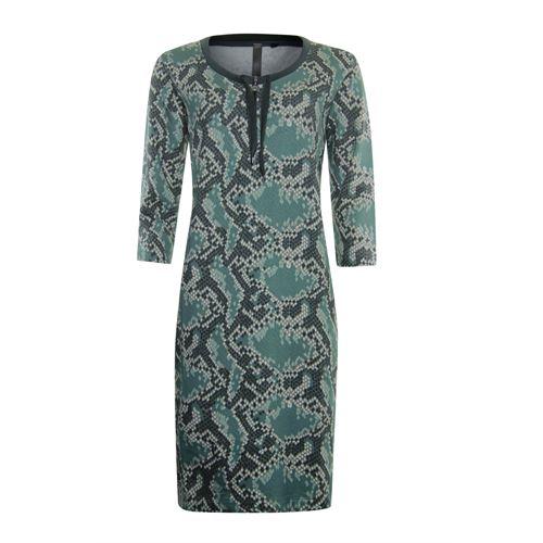 Poools dameskleding jurken - sweatdress print. beschikbaar in maat 36,38,40,42,44 (multicolor)