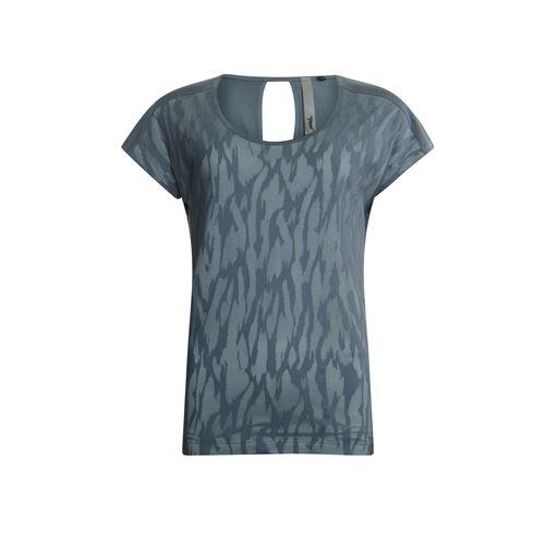 Poools dameskleding t-shirts & tops - t-shirt layer. beschikbaar in maat  (groen)