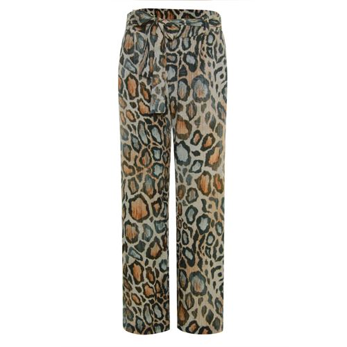 Poools ladieswear trousers - pant printed loose. available in size 36,42,44,46 (multicolor)