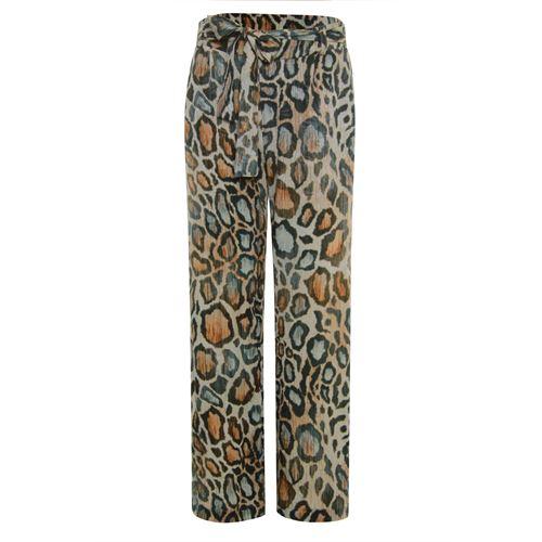Poools dameskleding broeken - pant printed loose. beschikbaar in maat 36,38,42,44,46 (multicolor)