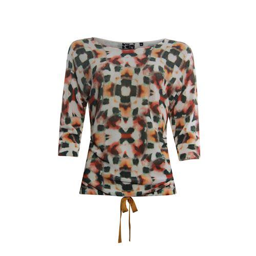 Poools dameskleding truien & vesten - sweater printed. beschikbaar in maat 38,42,44 (multicolor)