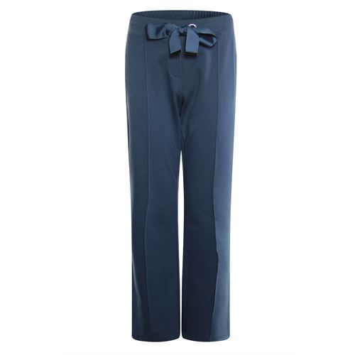 Poools ladieswear trousers - pant heavy jersey wide. available in size 36,38,40,42,44 (blue)