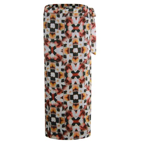 Poools ladieswear skirts - skirt long printed. available in size 36,38,40,42,44,46 (multicolor)