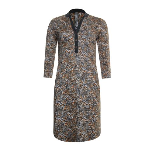 Poools dameskleding jurken - jurk print. beschikbaar in maat 36,38,40,42,44,46 (multicolor)