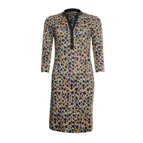 Poools dameskleding jurken - jurk print. beschikbaar in maat 36 (multicolor)