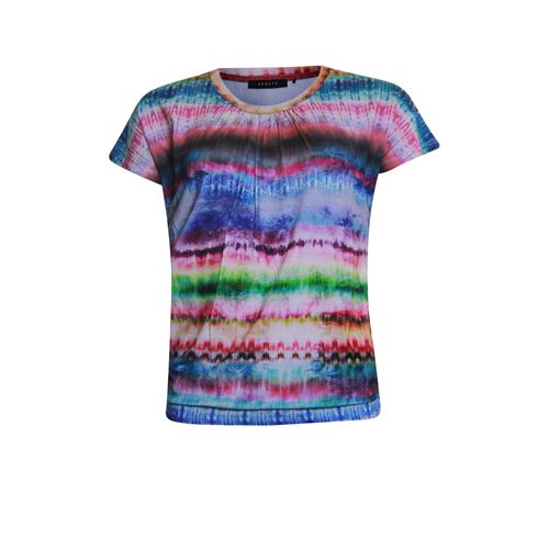 RS Sports ladieswear t-shirts & tops - blouson elastic s/s. available in size 38,40,42,44,46,48 (multicolor)