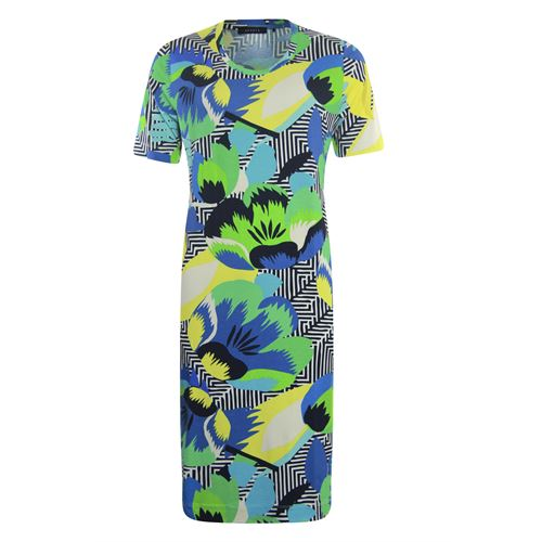 RS Sports ladieswear dresses - dress o-neck s/s. available in size 40,42,44,46,48 (multicolor)