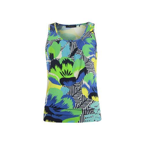 Roberto Sarto ladieswear t-shirts & tops - top blouson sleeveless. available in size 38,40,42,44,46,48 (multicolor)