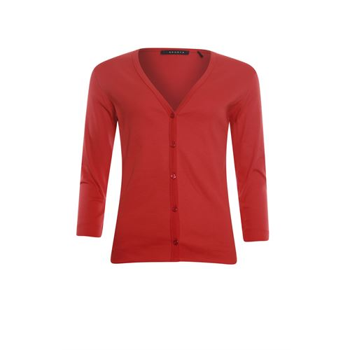 RS Sports ladieswear pullovers & vests - cardigan 3/4 sl. available in size 38,40,42,44,46,48 (red)