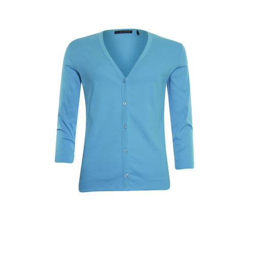 RS Sports ladieswear pullovers & vests - cardigan 3/4 sl. available in size 38,40,42,44,46,48 (blue)
