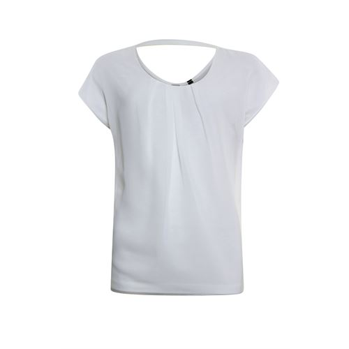 Poools ladieswear t-shirts & tops - t-shirt woven front. available in size 36,38,40,42,44,46 (off-white)