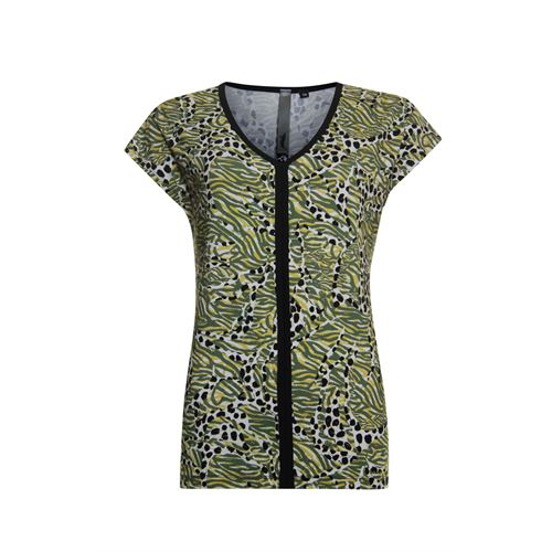 Poools ladieswear t-shirts & tops - t-shirt print. available in size 36,38,40,42,44,46 (multicolor)