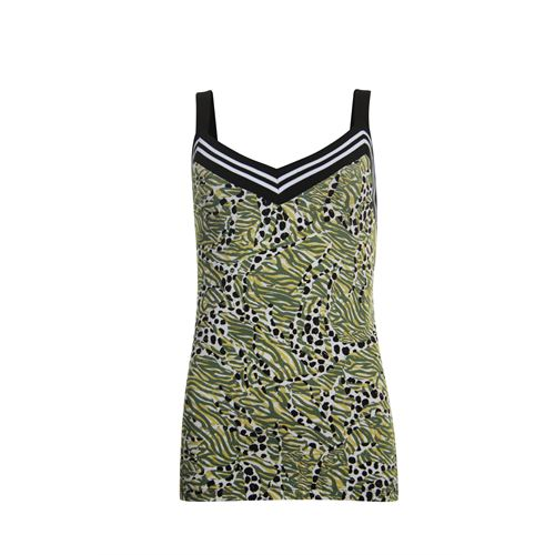 Poools ladieswear t-shirts & tops - top printed. available in size 36,38,40,42,44,46 (multicolor)