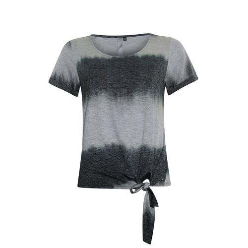 Poools ladieswear t-shirts & tops - t-shirt knot. available in size 36,38,40,42,44,46 (black)