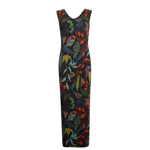 Poools ladieswear dresses - dress long. available in size 36,38,40,42,44,46 (multicolor)