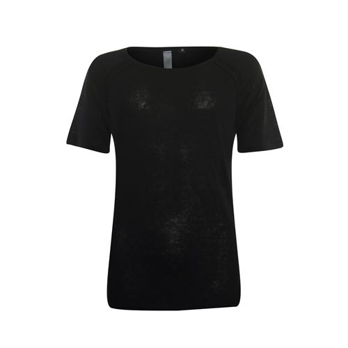 Poools ladieswear t-shirts & tops - t-shirt plain. available in size 40 (black)