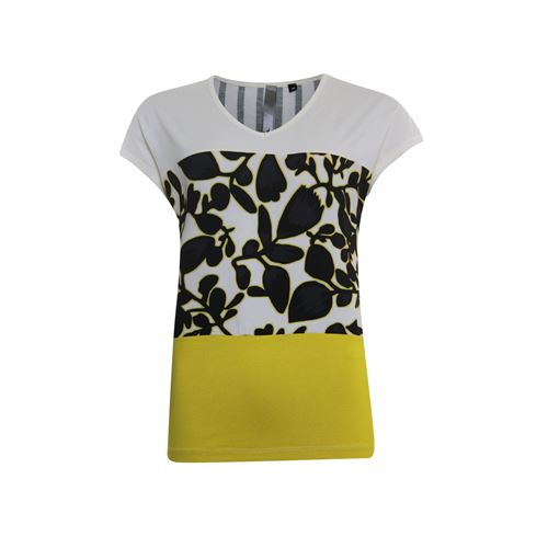 Poools ladieswear t-shirts & tops - t-shirt mix. available in size 38,40,42,44,46 (yellow)