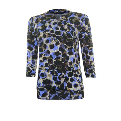 Roberto Sarto ladieswear t-shirts & tops - t-shirt blouson style. available in size  (black,blue,multicolor,off-white)
