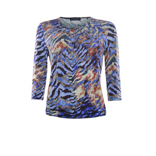 Roberto Sarto ladieswear t-shirts & tops - t-shirt blousonstyle. available in size 38 (black,blue,multicolor,red)