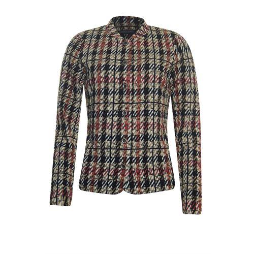 Roberto Sarto dameskleding jassen & blazers - jasje. beschikbaar in maat 42,48 (ecru,multicolor,rood,zwart)