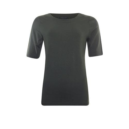 Roberto Sarto dameskleding t-shirts & tops - t-shirt k/m. beschikbaar in maat 40,46,48 (olijf)