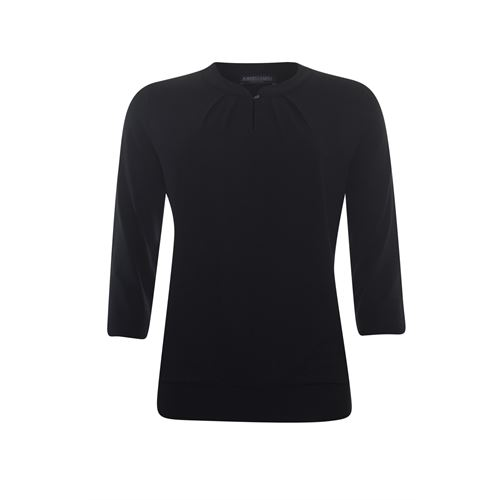 Roberto Sarto ladieswear t-shirts & tops - t-shirt 3/4 sleeve. available in size 38 (black)