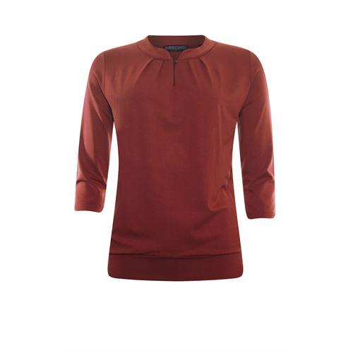Roberto Sarto dameskleding t-shirts & tops - t-shirt 3/4 mouw. beschikbaar in maat 38,46 (rood)