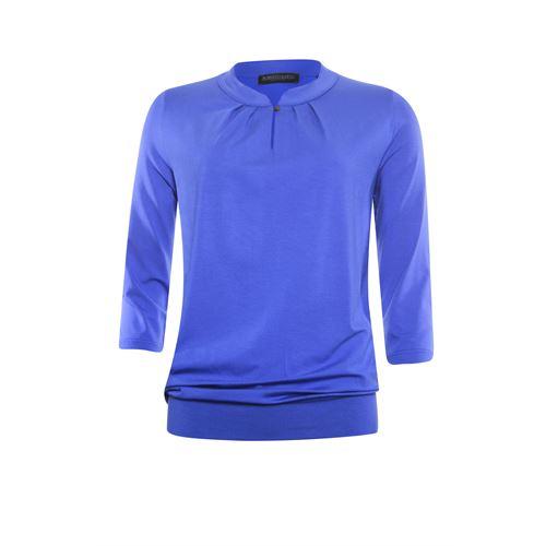 Roberto Sarto dameskleding t-shirts & tops - t-shirt 3/4 mouw. beschikbaar in maat 38,40,42,44,46,48 (blauw)