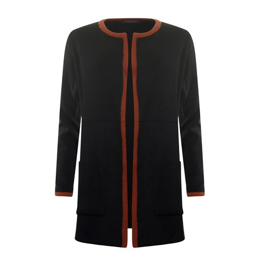 Roberto Sarto ladieswear pullovers & vests - cardigan l/s. available in size 38,42,44,46,48 (black,multicolor,red)