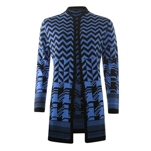 Roberto Sarto ladieswear pullovers & vests - cardigan l/s. available in size 38,40,42,44,46,48 (blue,brown,multicolor)